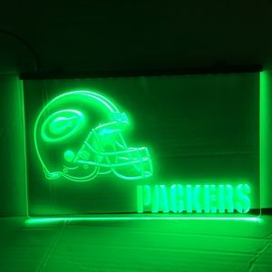 Green Bay Packers LED sign Green Bay Packers neon